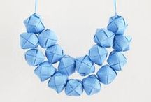 Jewellery- Costume / Leather, concrete, acrylic, beads,... Fun and quirky! We love all jewellery