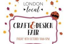 Stoke Newington Autumn Market / This year we are hosting the first London Local market in the vibrant Stoke Newington Church Street,on the 16th of October 2015! This a preview of our talented sellers' products.