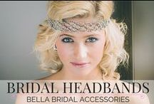 Bridal Headbands / Welcome to Bella Bridal Accessories Bridal Headband collection, filled with a selection of Swarovski Crystal, pearl, diamante hair bands and head bands.