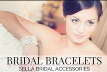 Bridal Bracelets / A pretty collection of bracelets, perfect for any bride or bridesmaid to wear to your wedding or special event.  Find out more at www.bellabridalaccessories.co.uk
