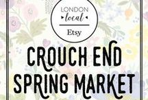 Crouch End Spring Market 14th May 2016 / This board is about the London Local Spring market and its sellers
