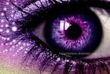 PURPLE / Purple is the color of good judgment. It is the color of people seeking spiritual fulfillment. It is said if you surround yourself with purple you will have peace of mind. Purple is a good color to use in meditation.