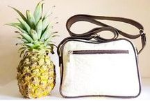 Pineapple leather / The wonderful, sustainable, natural bags made from Piñatex™ pineapple leather