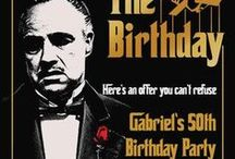 Godfather Party Theme, Gangster Party Ideas