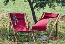 Déco ensoleillée / Quand vient l'été, la déco prend elle aussi des couleurs !  Ne soyez pas timides, c'est le moment d'oser sortir des sentiers battus, de célébrer les beaux jours, recevoir ses proches et se détendre.