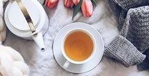 Just a cup of tea / Flat Lay & Tea