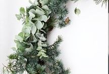DIY Door Wreaths from the Garden / Foraged from your garden, these beautiful wreaths use natural finds and delightful colors and accents to keep your door looking fresh and welcoming for the holiday season. Enjoy Christmas with these wreaths. From your friends at West Coast Gardens in Surrey, BC.