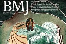 Front covers / A collection of the BMJ's striking covers