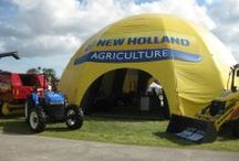 Inflatable Dome Tents / Call us at (626) 579-4454