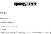 Apology Letters / Free Sample Letters Of Apology For Personal And  Professional Situations. Also,  Example Letter Of Apology