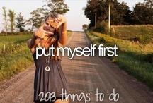 Bucket list  / Alles wat ik nog wil doen in mijn leven! :)