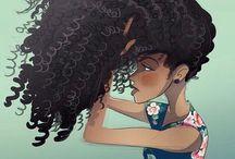 natural curly hair ! / love thy natural hair ! / by jasmine ,