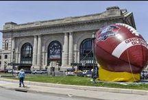 Inflatable American Football / Call us at (626) 579-4454