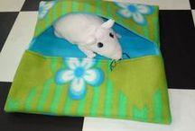 DIY Rattie Goodies / Tutorials of fun stuff to make for your ratties