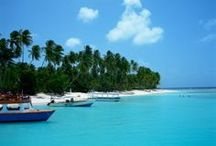 Islands of the Blue Caribbean Sea / by Patriotic T&T Ltd