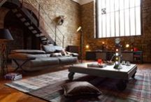 The solution in the interior. / Pictures and features all sorts of unusual interiors.