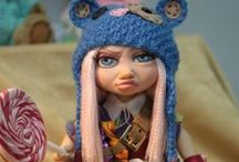 Art dolls / Dolls from polymer clay, or other materials