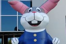 Easter Inflatables / Custom Giant Easter Inflatables