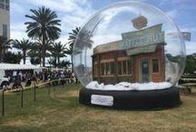 Inflatable Snow Globe / Inflatable Snow Globe
