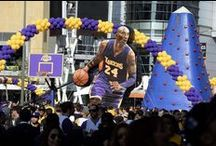 Inflatable Kobe Bryant / Giant Inflatable Kobe Bryant for his last game.