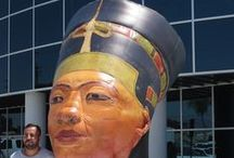 Egyptian Props / Giant Inflatable Egyptian Props.  Giant Egyptian Props