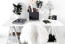 OFFICE | WORKSPACE / I believe we do our best work in a clean and tidy space. I would love my own office one day to blog in and these are some of my favourite desks set ups.