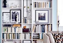 BOOKS | SHELVES / I would love a library like Belle has in Beauty & the Beast. For now I'll look here for my favourite ways to style my book shelves and books I want to read.