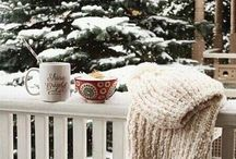 WINTER | LIFE / Blankets, snow (I can wish!) and mugs of hot chocolate. Delightful!