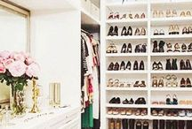 STYLE | WARDROBES / We spend a lot of money on beautiful clothes and shoes so it's worth looking into how we store them. Here I have my favourite closet designs which hopefully will one day be mine!