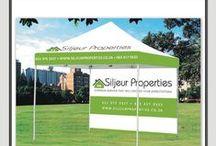 Siljeur Properties {Portfolio} / Creative Pulse Designs for Client