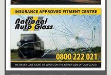 National Auto Glass {Portfolio} / Creative Pulse Designs for Client