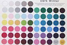 Dark Winter - Color Analysis / Deep / Dark Winter - Color Analysis / by Jenny
