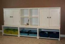 Storage Ideas / Around the house storage ideas