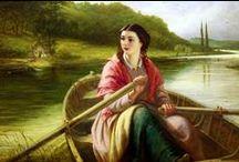 Lady in art 19th century / Lady in art 19th century