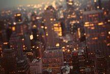 dream places.. / paris, new york. los angeles, madrid, etc..
