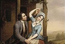 Couples, families in art / Couples and families in classic art