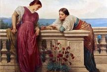 Women: sisters, friends, groups / Women groups in classic art 19th century and before