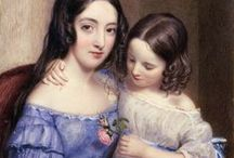 Mothers, children / Mothers and children in classic art