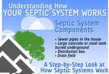 """Septic Tips / Good-to-know """"septic stuff"""" for homeowners."""
