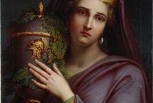 Mythology, 19 century art / 19 century art representing myths and legends