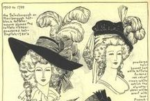 | Historical Hair & Hats | / What book is this from!?   Found most of this from the Village Hat Shop Gallery