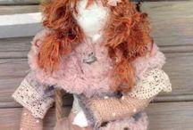 poupée chiffon / poupées en tissu