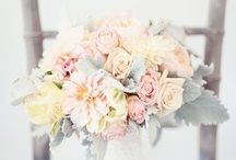 wedding flowers and bouquets / floral arrangement ideas and inspiration for weddings, events, and home decor