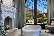 "les salles des bain / Sounds much better than ""bathrooms""!"
