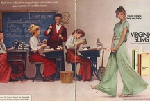 Vintage Virginia Slims ads / You've come a long way, baby.