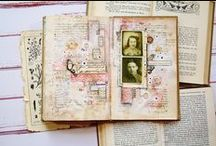 art journal / My art journal pages, postcards, collages...