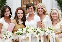 modest bridesmaids dresses / cute bridesmaids dresses with sleeves, perfect for LDS brides