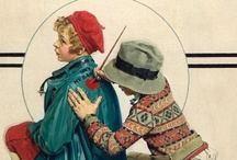 Artistic: Norman Rockwell / by Data Joan