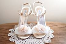 All white everything. / wedding hair, make up, shoes and accessories  / by Imaan Abbasi