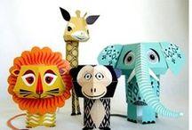 Craft-Art  /Animals / by Aktif Anne :))